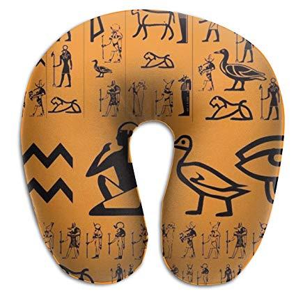 Amazon.com: NiYoung 100% Pure Memory Foam Neck Pillow, Ancient Egypt.