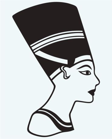 egyptian pyramid clipart black and white.