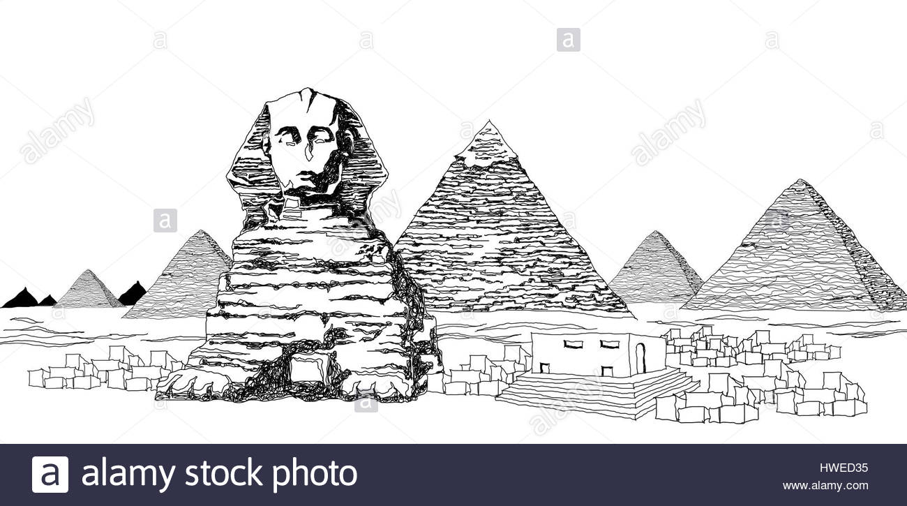 Ancient Egyptian Art Black and White Stock Photos & Images.