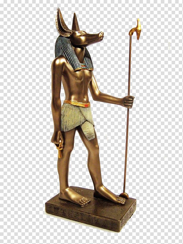 Ancient Egyptian deities Set Statue Anubis, Anubis.