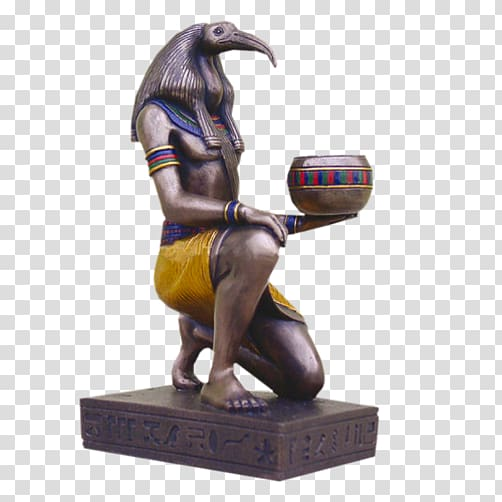 Ancient Egyptian deities Thoth Deity, Goddess transparent.