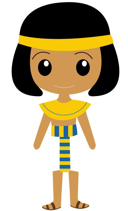 Egyptian Boy Clipart.