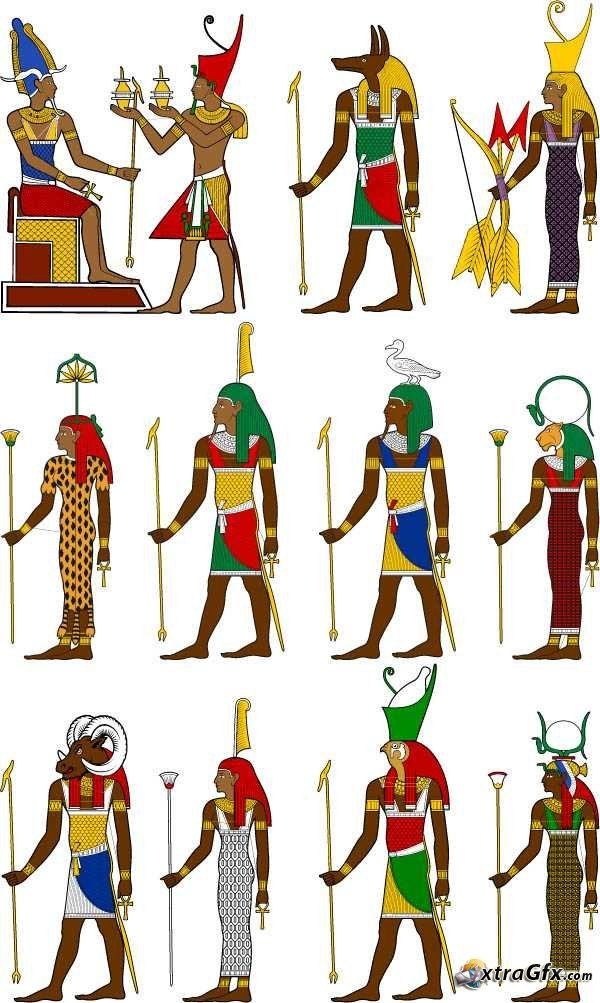 The best free Egyptian clipart images. Download from 285.