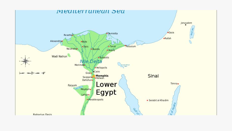 Map Clipart River Delta.