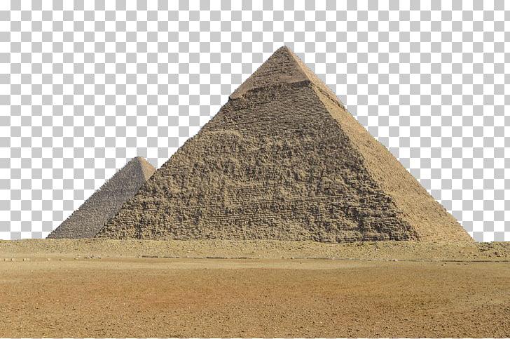 Giza pyramid complex Egyptian pyramids Ancient Egypt.