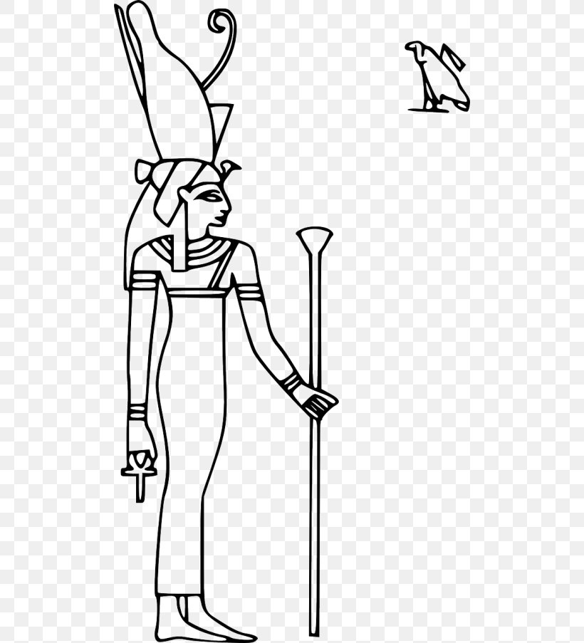Ancient Egyptian Religion Isis Clip Art Goddess, PNG.