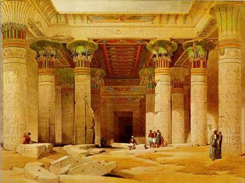 Ancient Egypt Temples.