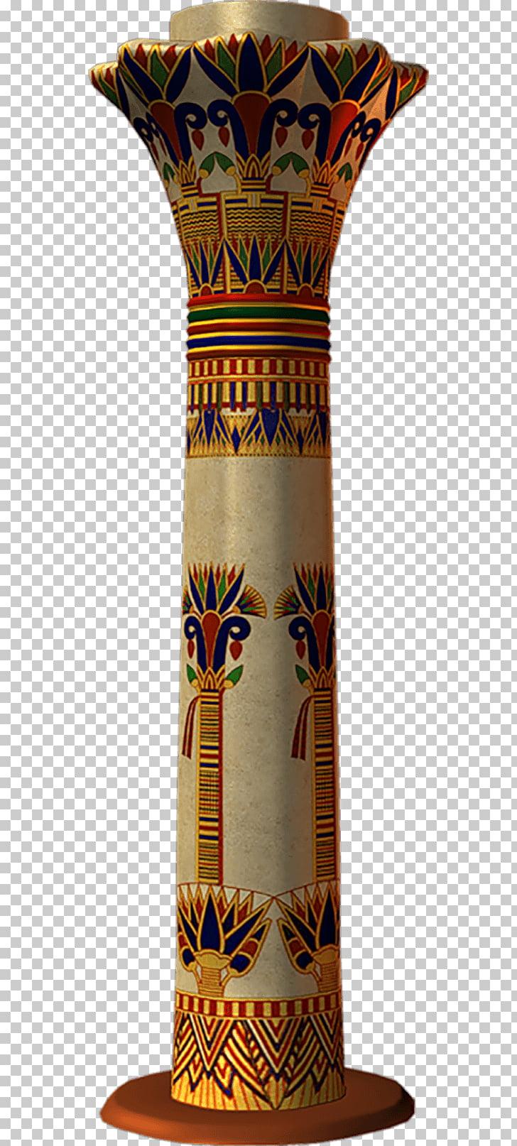 Ancient Egyptian architecture Column Civilization, egpt.