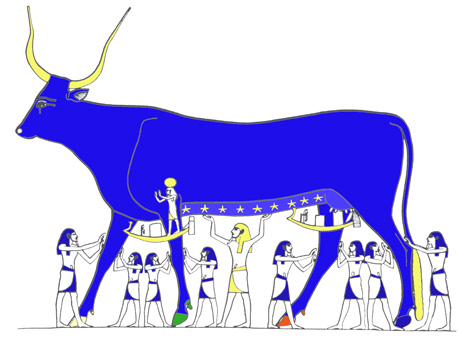 ANCIENT EGYPT : The Book of the Heavenly Cow.