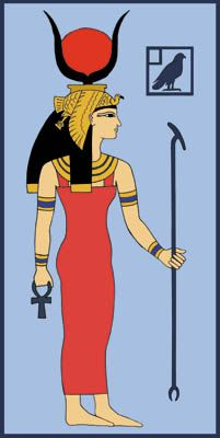 The Goddess Hathor by Tutankhamun.deviantart.com on @deviantART.