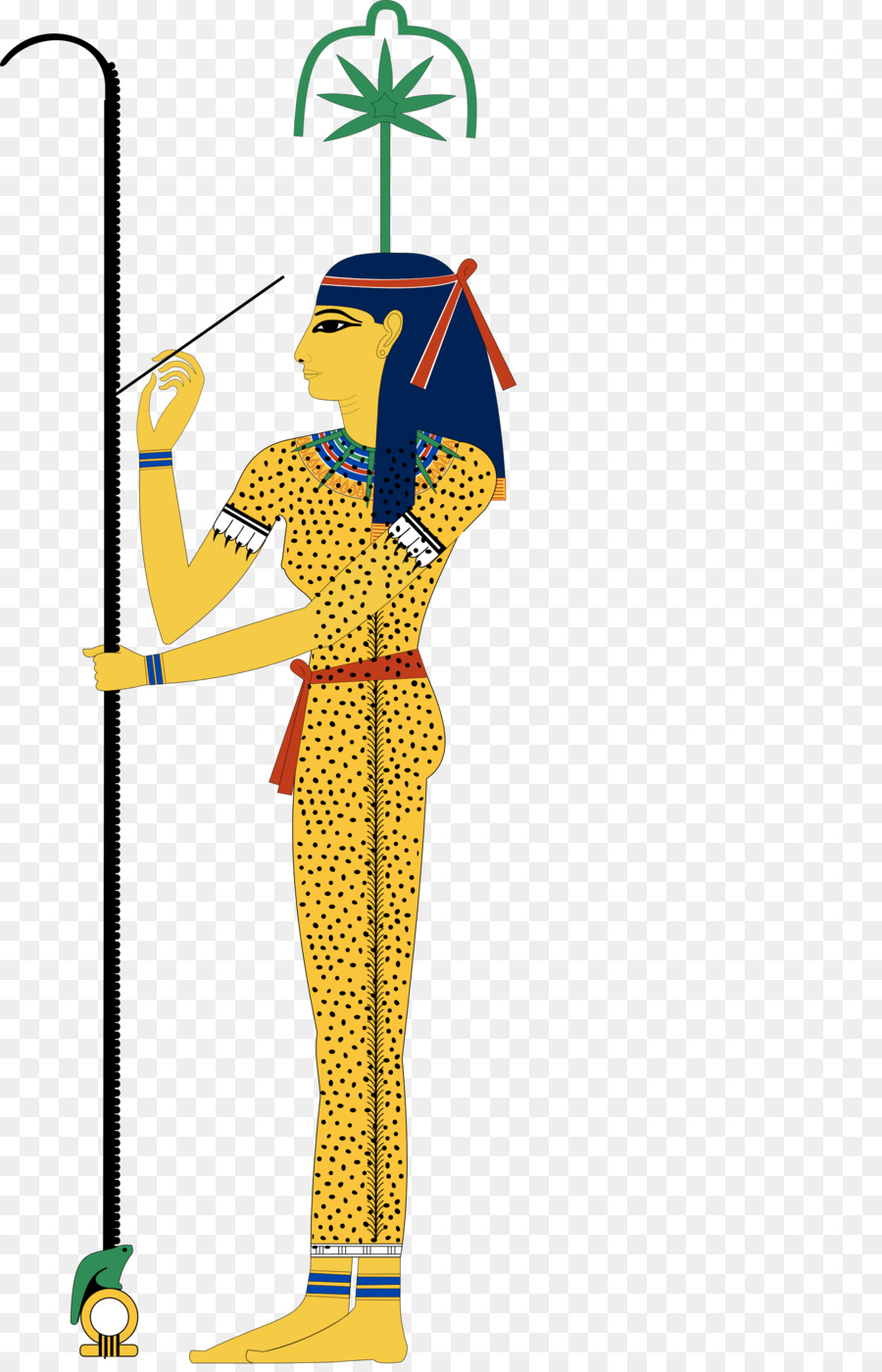 Egyptian Gods clipart.