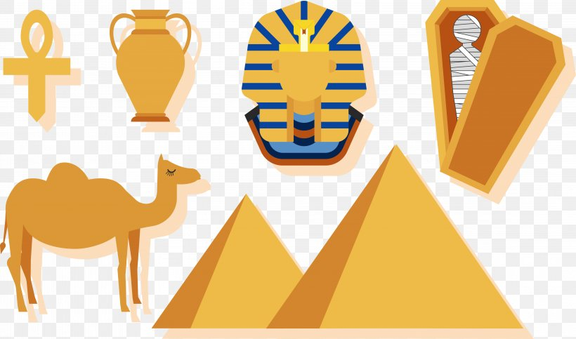 Egyptian Pyramids Ancient Egypt Clip Art, PNG, 4591x2708px.