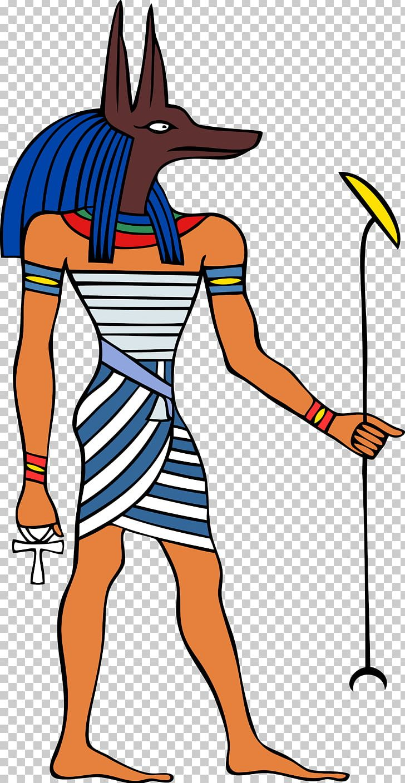 Ancient Egyptian Deities Anubis Deity Ancient Egyptian Religion PNG.