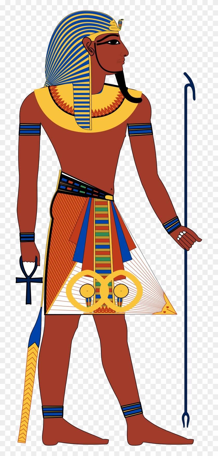 28 Collection Of Ancient Egyptian People Clipart.
