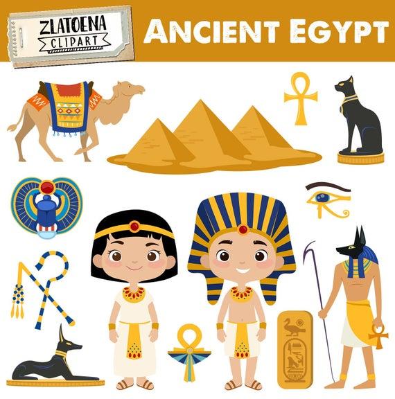 Egypt Clip art Ancient Egypt Clipart Travel clipart Egyptian clip art  Pharaoh Pyramids clipart Camel Egypt graphics Scarab Beetle.