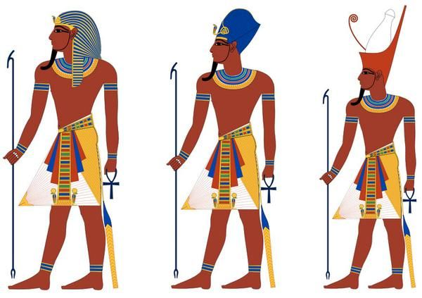 Ancient Egypt United first in 300,000 B.C. because of Menes.