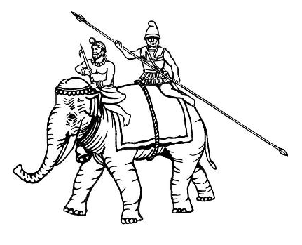 Ancient elephant war clipart clipart images gallery for free.