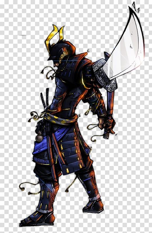 Samurai Tattoo Japanese armour Art Warrior, samurai.