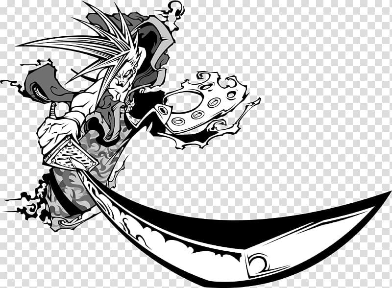 Japan Bushi Samurai, Samurai transparent background PNG.