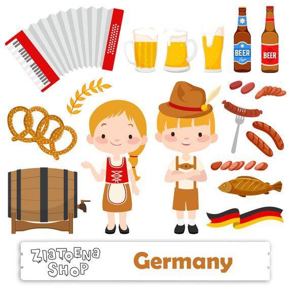 OctoberFest Clip Art Beer clip art Germany Clipart.