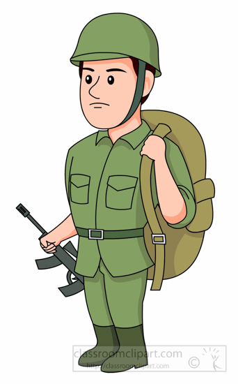The Soldier Clipart.