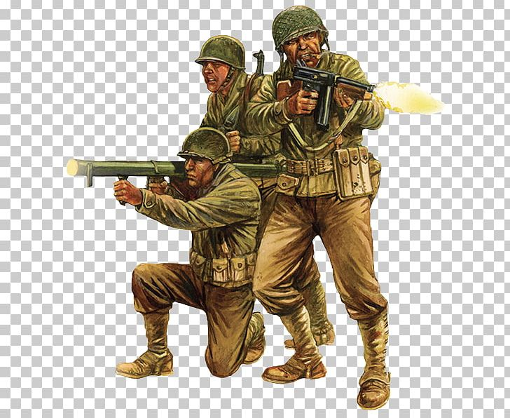 Soldier Infantry Second World War North African Campaign.