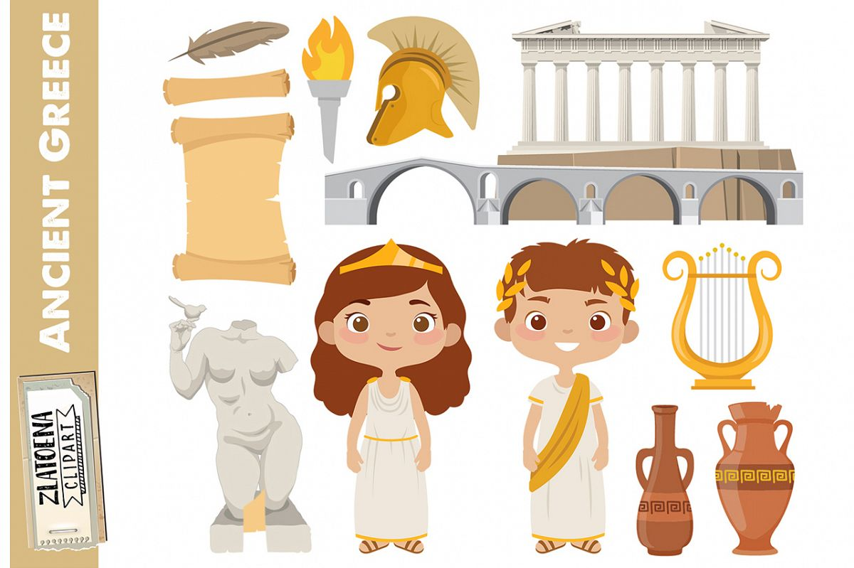 Greece Clip art Ancient Greece Clipart Travel clipart Greek.