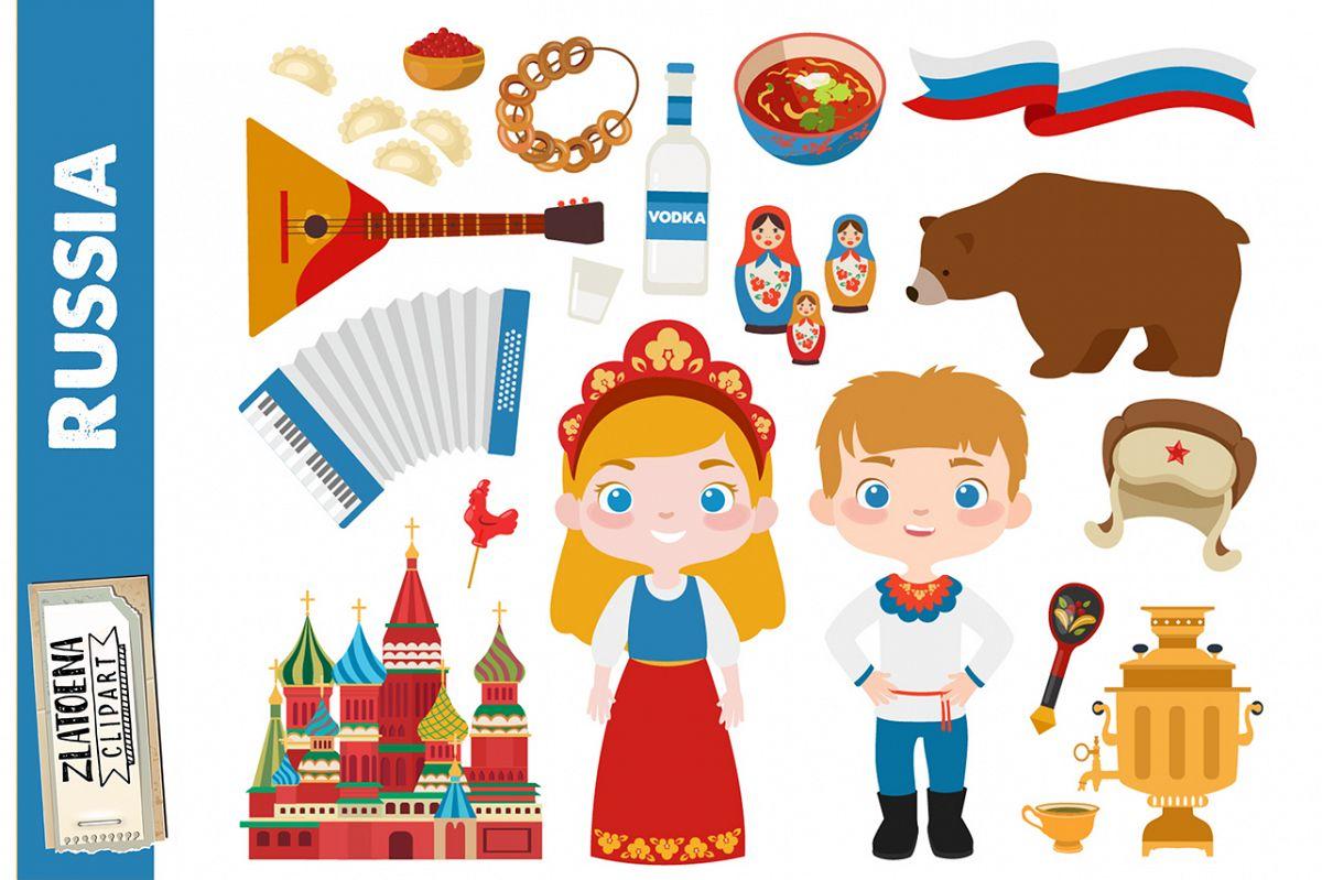 Russia clipart Russian clip art Travel clipart History.