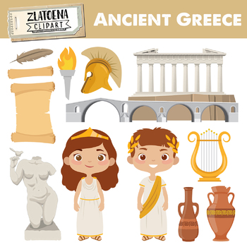 Ancient Greece Clipart Worksheets & Teaching Resources.