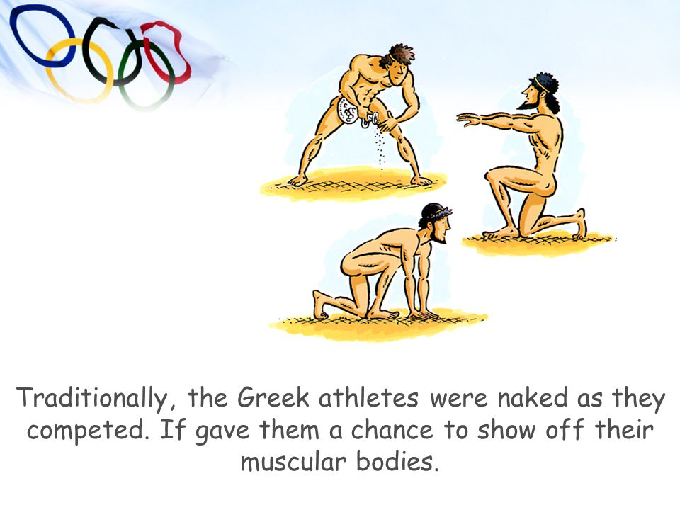 Ancient Greece Olympics People Clipart.