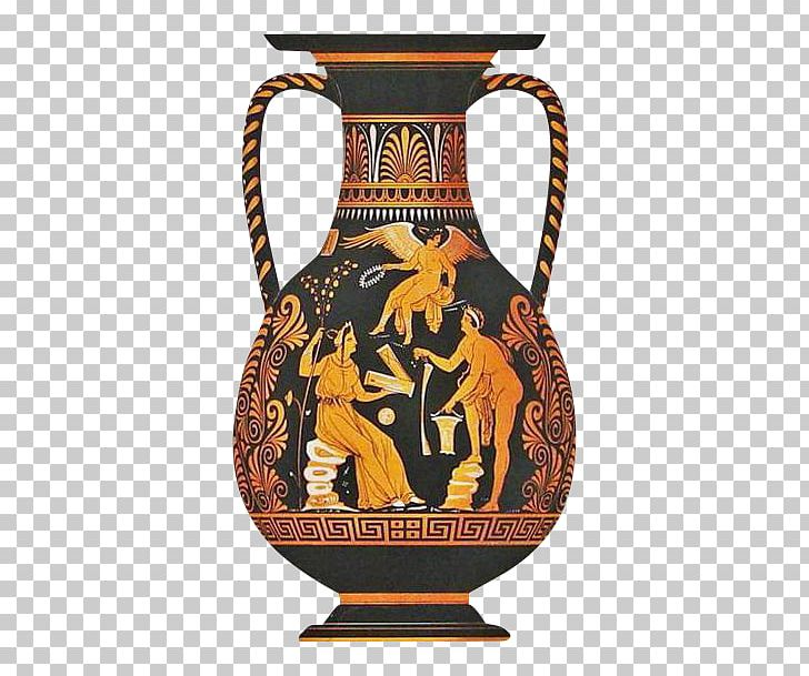 Pottery Of Ancient Greece Vase Pitcher Ancient Greek PNG.