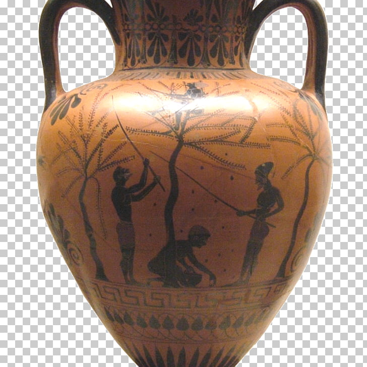 Ancient Greece Ceramic Black.