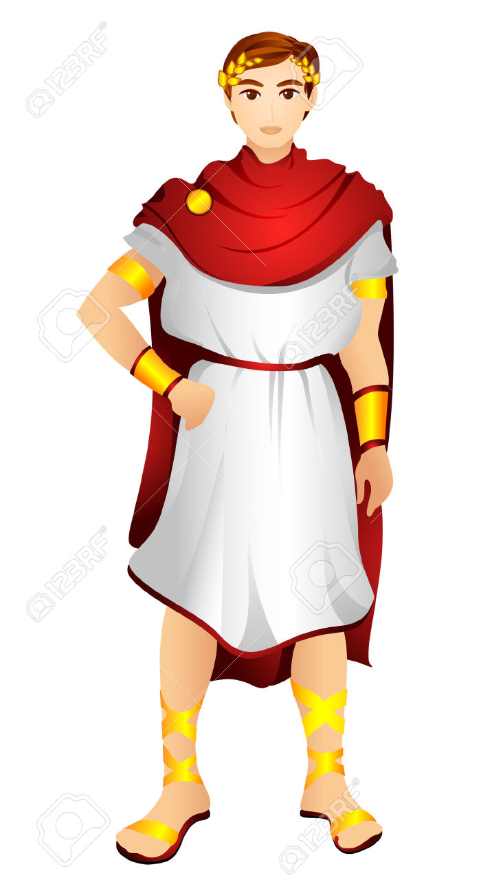 Greek Clothing Clipart.