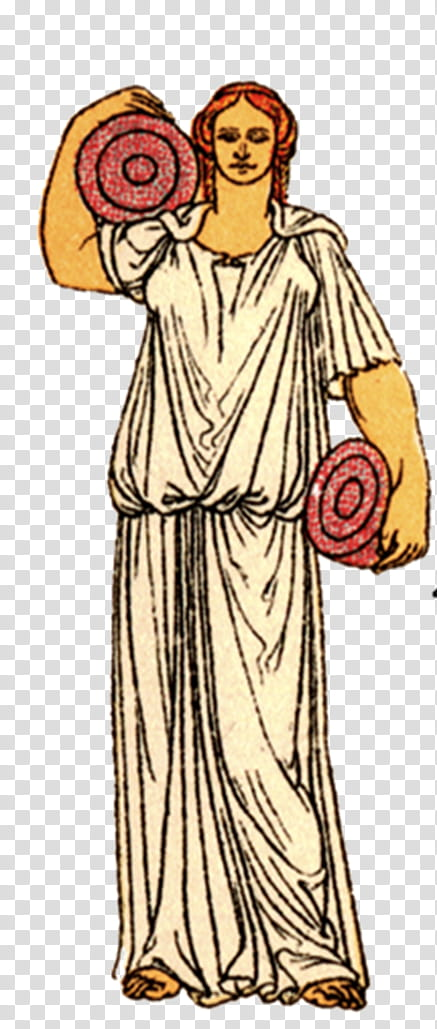 Angel, Ancient Greece, Chiton, Exomis, Clothing, Greek.