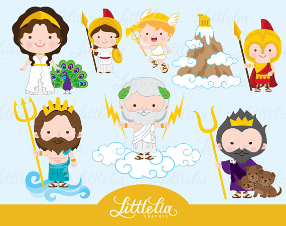 Greek Mythology Clipart & Clip Art Images #13176.