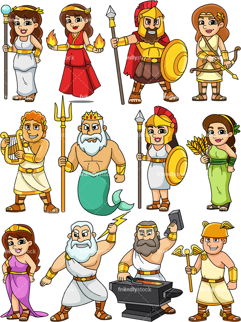 Greek Gods Collection #2.