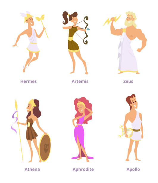 Best Greek People Illustrations, Royalty.
