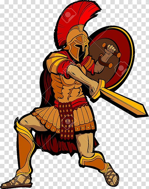 Roman soldier , Spartan army Ancient Greece Soldier Battle.
