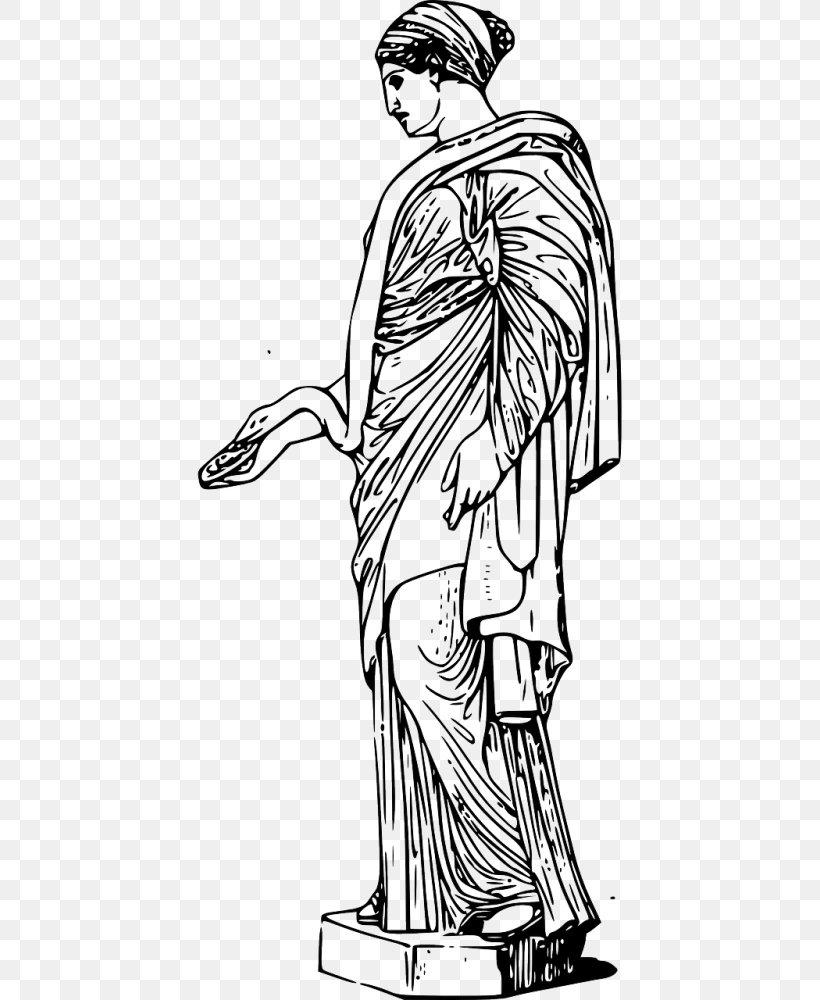 Ancient Greece Venus De Milo Ancient Greek Sculpture Statue.