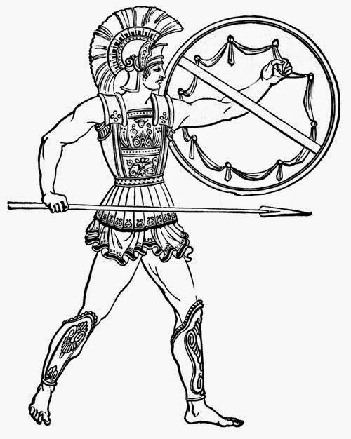 Ancient Greeks Clip Art 051415» Vector Clip Art.