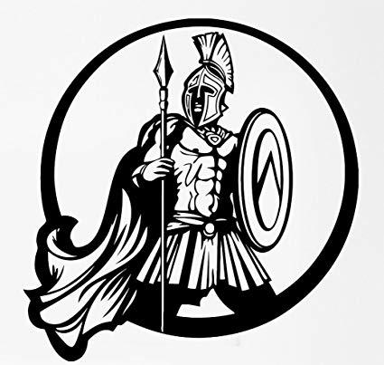 Amazon.com: Ancient Greek Warrior Spartan Shield Battle.