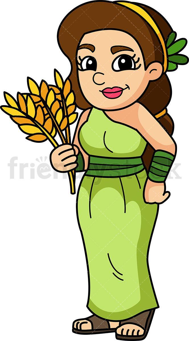 Demeter Goddess.