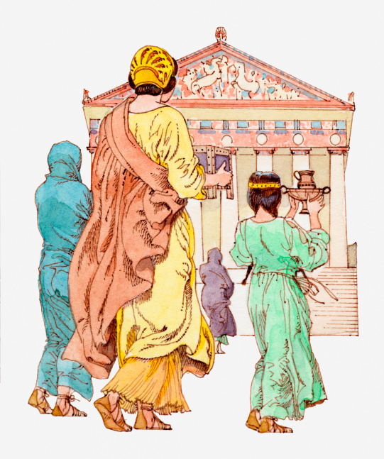 Life of Women in Ancient Greece.