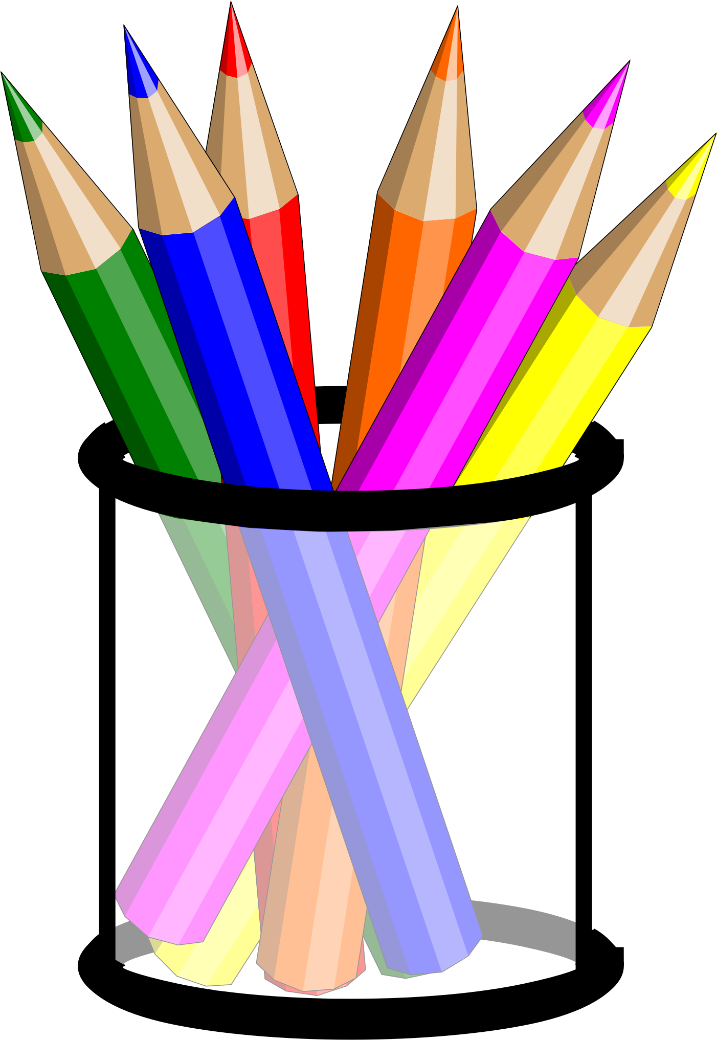 Clipart pen colorful pen, Clipart pen colorful pen.