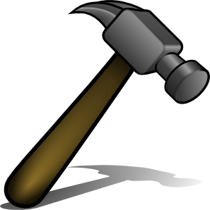 Ancient hammer and nails clipart clipart images gallery for.