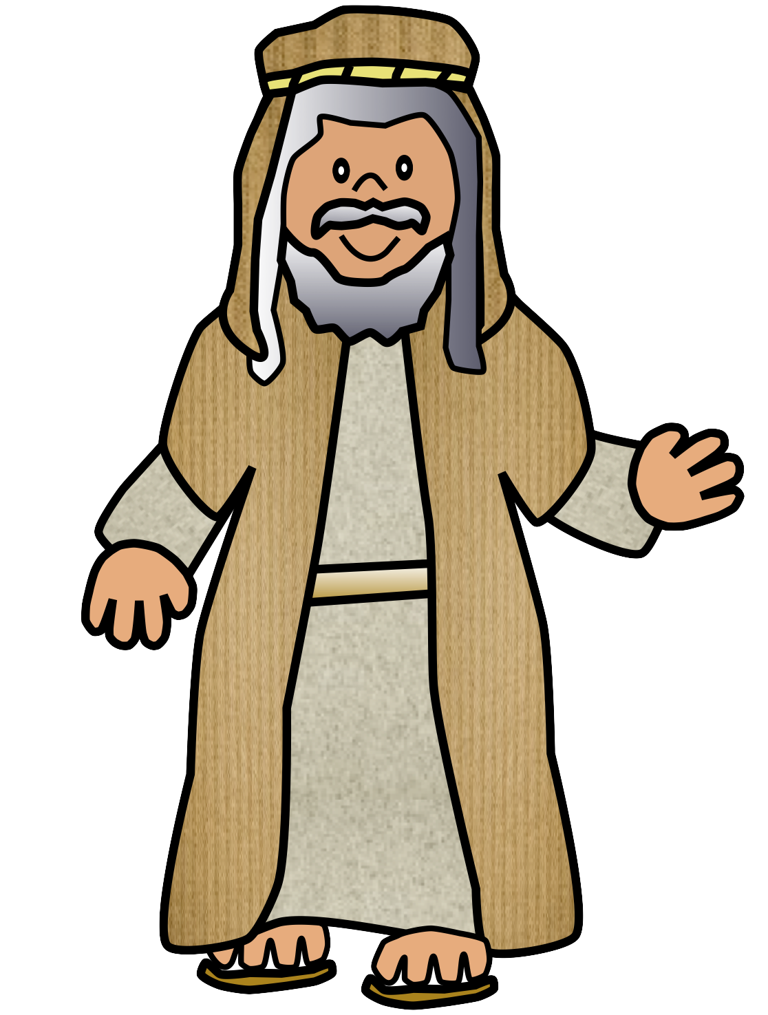 Ancient hebrew man clipart clipart images gallery for free.
