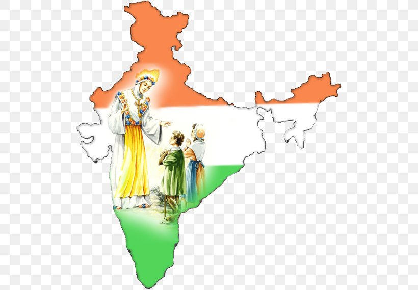 Indian Independence Movement Flag Of India Map Outline Of.