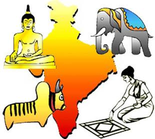 Ancient India Clipart.