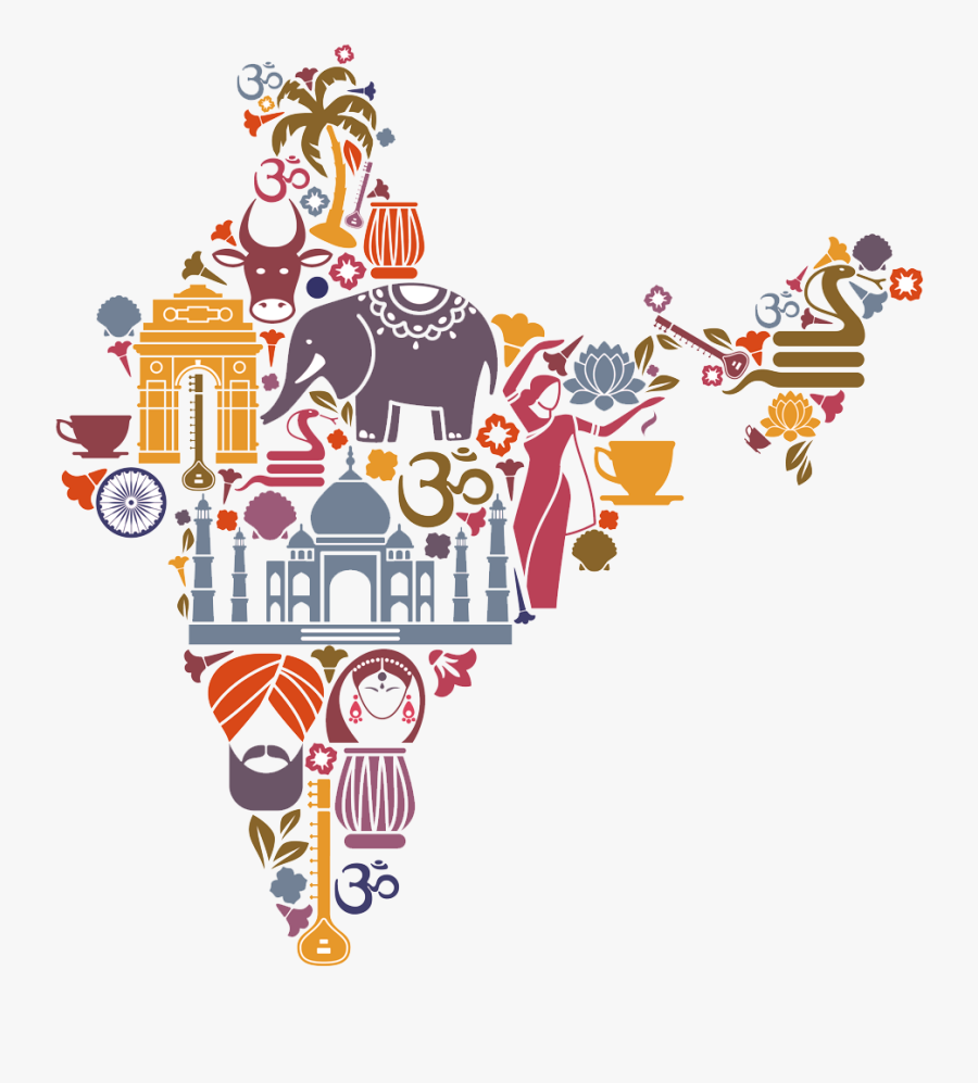 Incredible India , Free Transparent Clipart.
