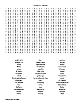 India Word Search Worksheets & Teaching Resources.